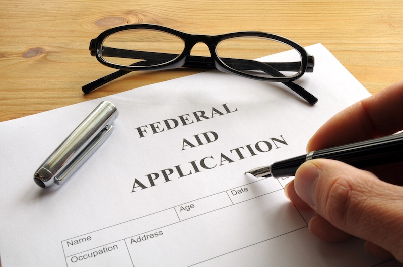 federal aid application