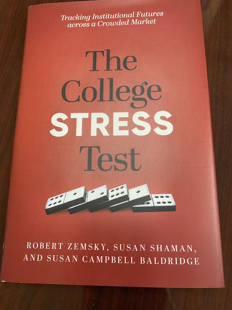 More about the college stress test