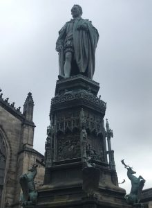 Duke of Buccleuch statue St Giles Cathedral