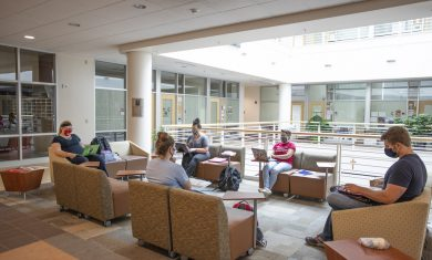 Saint Francis University students Boston