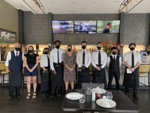 Citron restaurant staff Boston